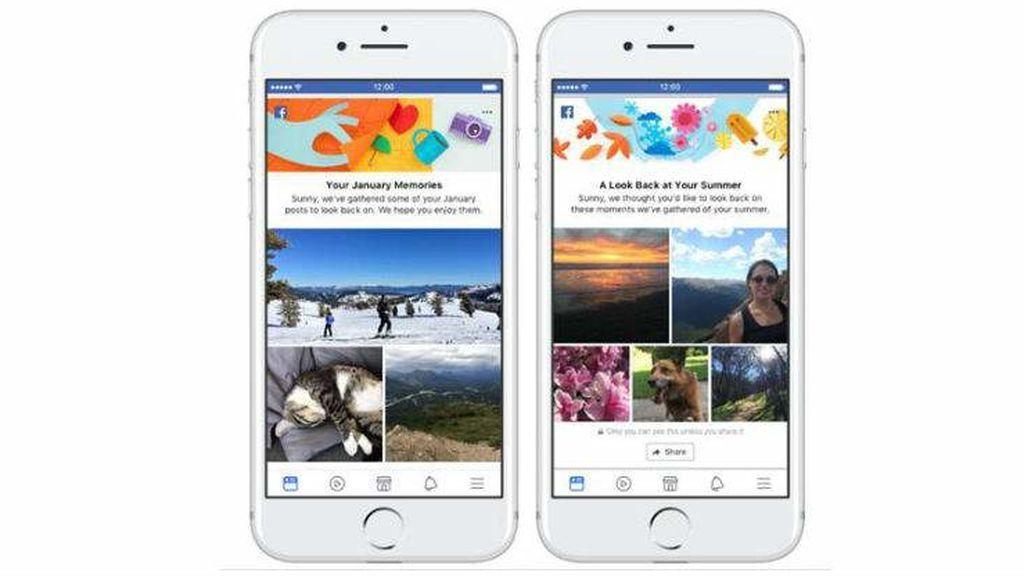Facebook introduce nuevas funciones para compartir recuerdos