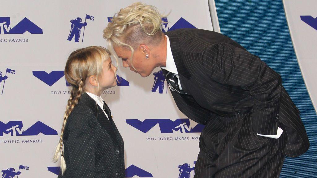 El inspirador discurso de Pink para su hija Willow de seis años durante los MVMAs
