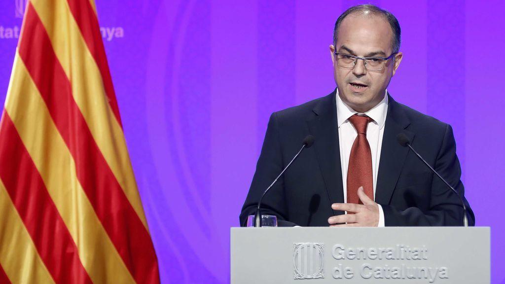 """El Gobierno catalán afirma que celebrará el 1-O aunque el TC lo anule: """"Obedeceremos al Parlament"""""""