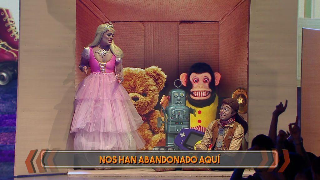 ¡Queremos que Aly y Sergio protagonicen el musical de 'Toy Story'!