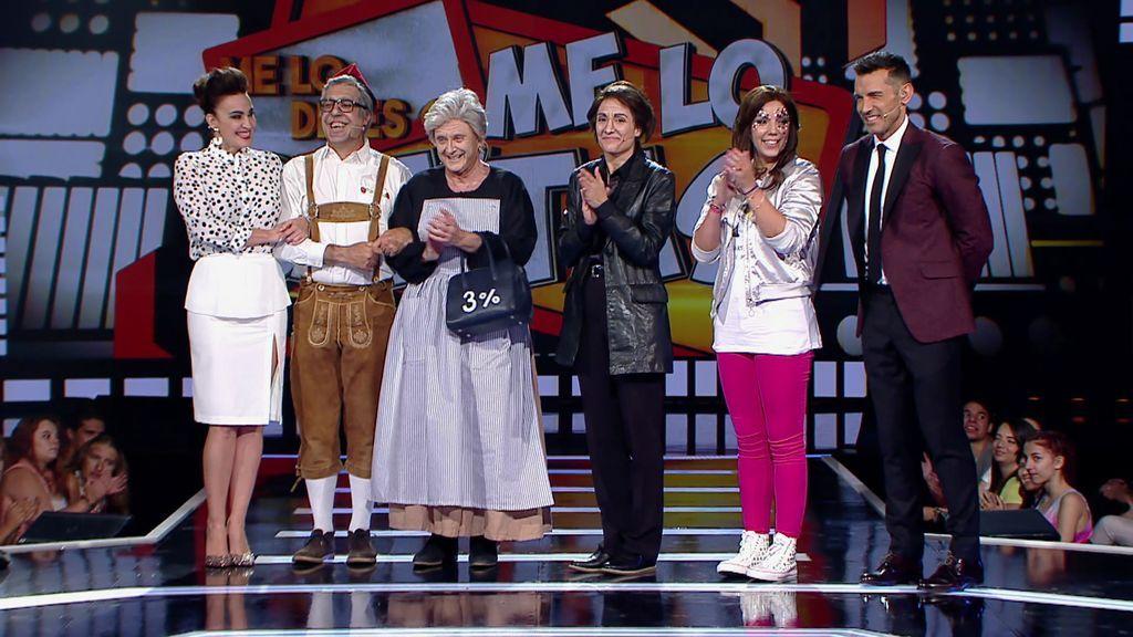 Andreíta hace que Rebeca se proclame vencedora del equipo de Cristina