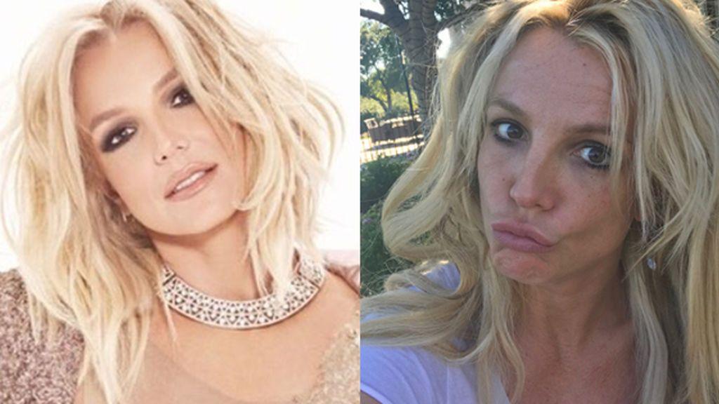 """Britney siempre será Britney: """"La auténtica yo, sin glamour, encantada de conoceros"""""""