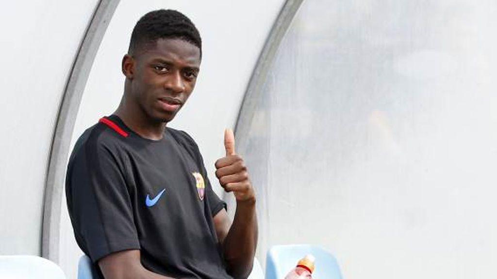 ¿Cree Dembélé que Coutinho es jugador del Barça? Atención al detalle qué lo revela