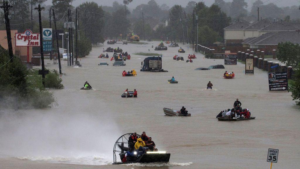 Las impactantes imágenes que ha dejado el huracán Harvey