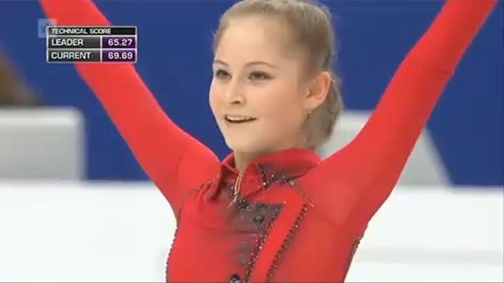 La campeona olímpica de patinaje más joven de la historia  se retira a los 19 años debido a la anorexia