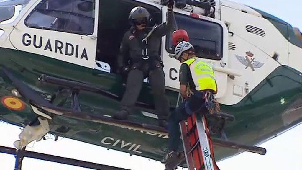 ¿Cómo es el trabajo del equipo de rescates de la Guardia Civil?