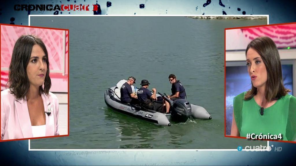 Hallan el coche de los dos desaparecidos hundido en el pantano de Susqueda: ni rastro de los jóvenes