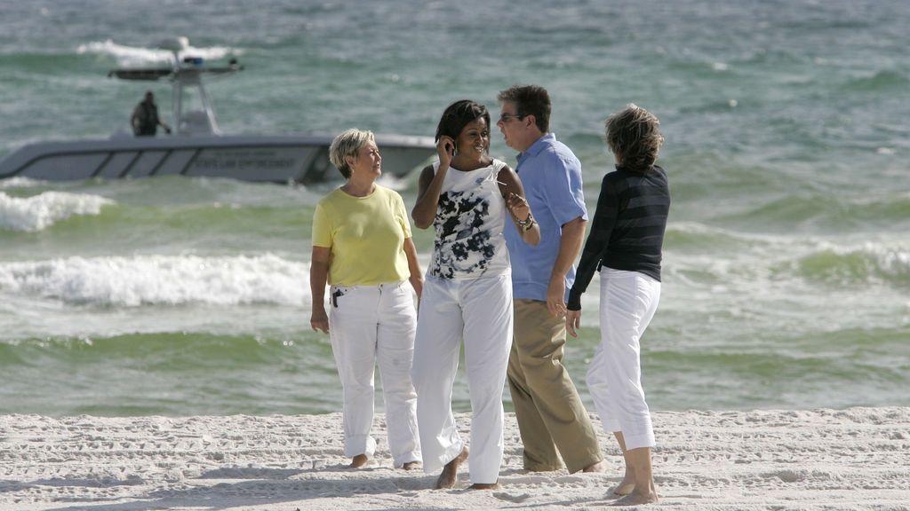 Michelle Obama  veranea con amigos en Mallorca