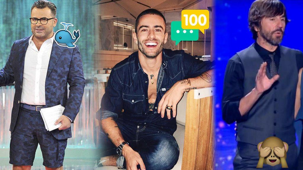 Los 6 sorprendentes 'looks' de los presentadores de Telecinco que marcan tendencia