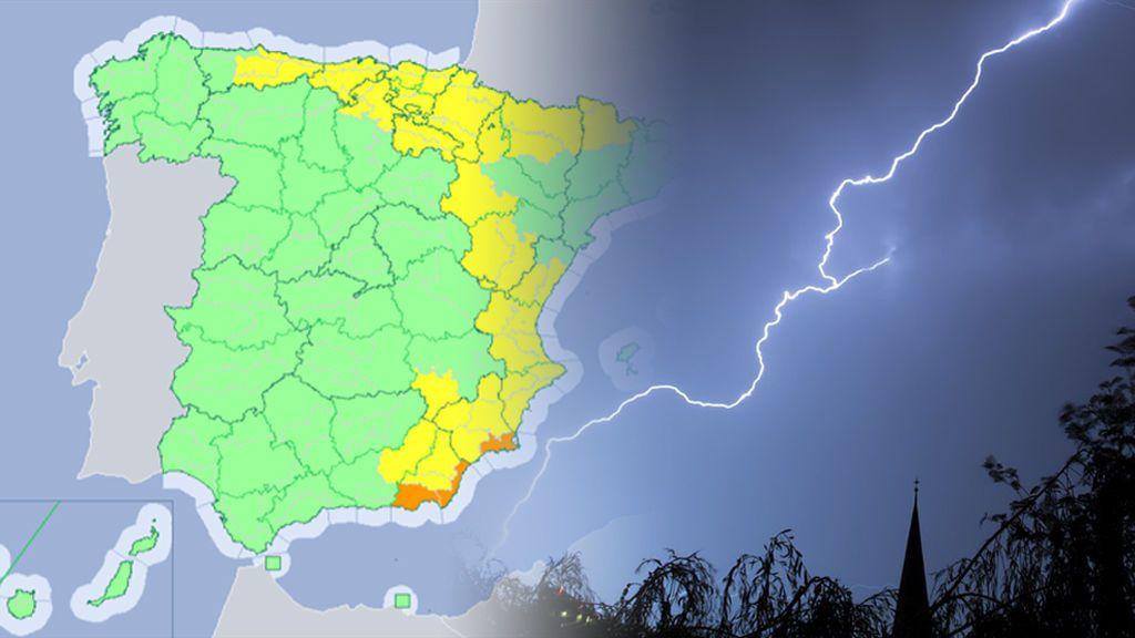 ¿Qué provincias estarán hoy en alerta por tormentas, granizo y rachas de viento fuerte