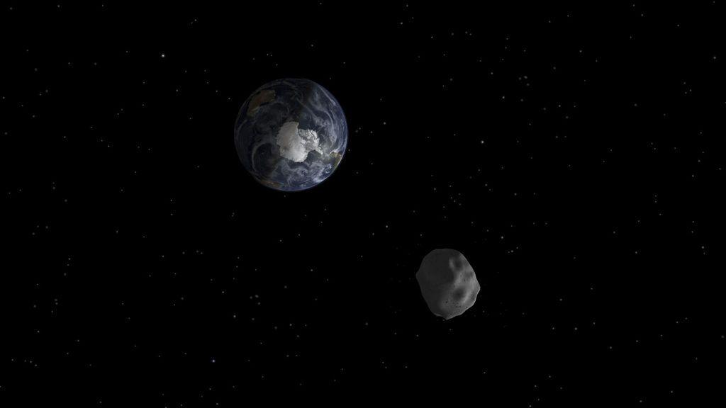 ¡Ya está aquí! El enorme asteroide Florence que pasará junto a la Tierra