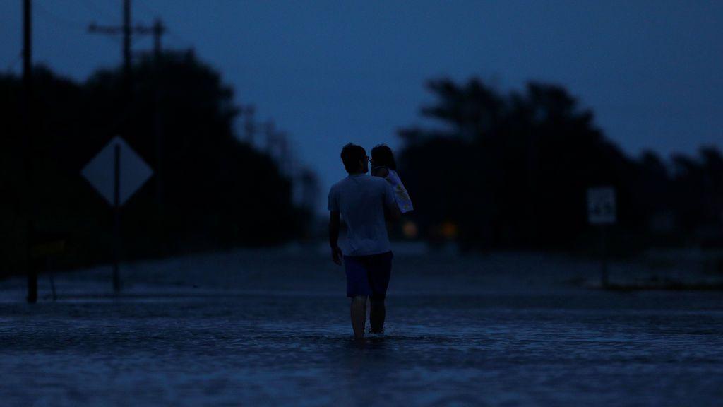 Los efectos de la tormenta tropical Harvey