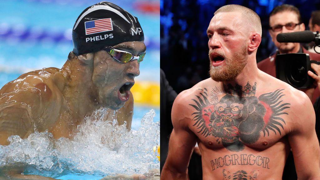 Tras Mayweather… ¡Phelps desafía a McGregor! ¿Habrá prueba de natación del siglo?