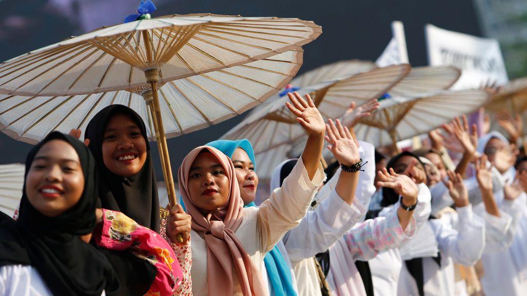 Celebración del Día de la Independencia en Malasia