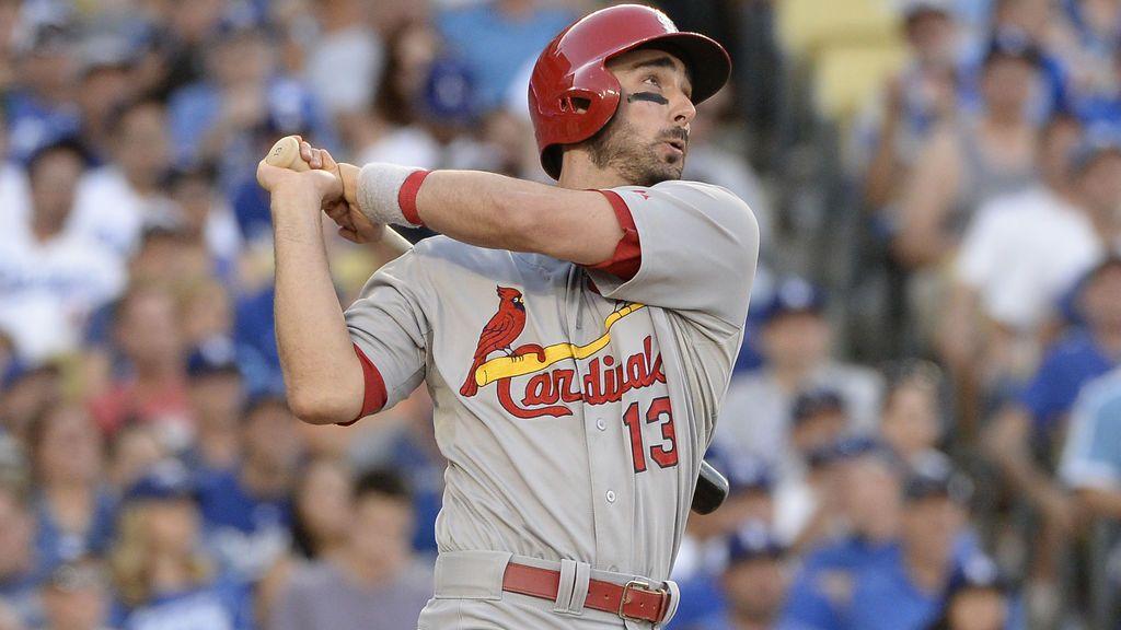 Matt Carpenter, jugador de los Cardinals, donará 10.000 dólares por 'home run' a las víctimas del huracán Harvey