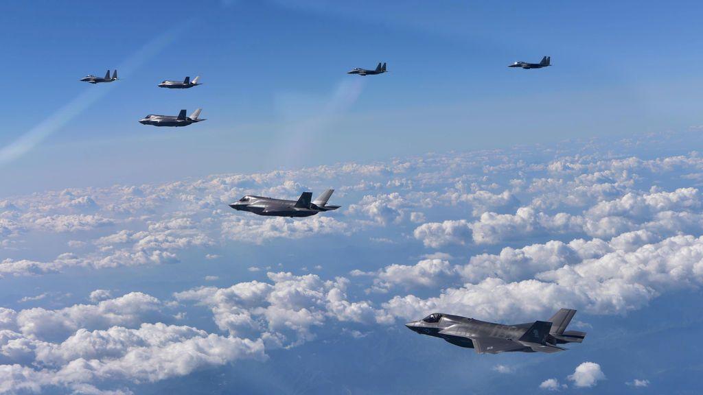 Estados Unidos, Japón y Corea del Sur hacen ejercicios militares conjuntos ante la amenaza norcoreana