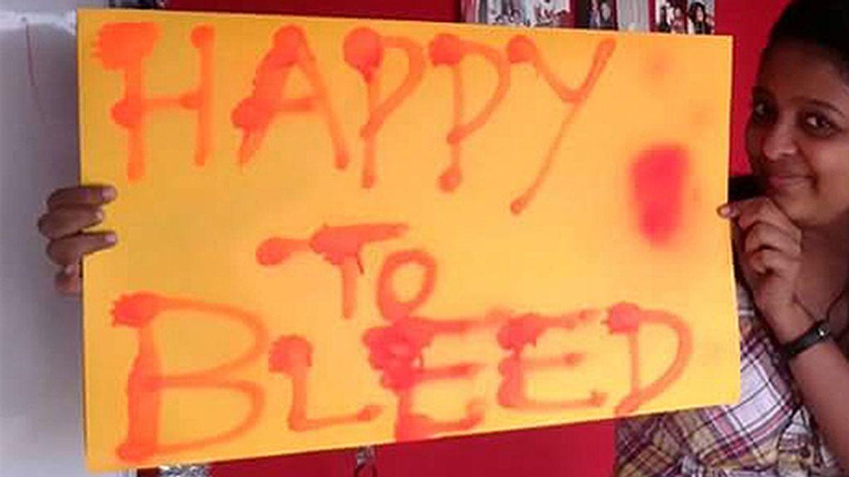 Campaña para romper el tabú de la menstruación en la India