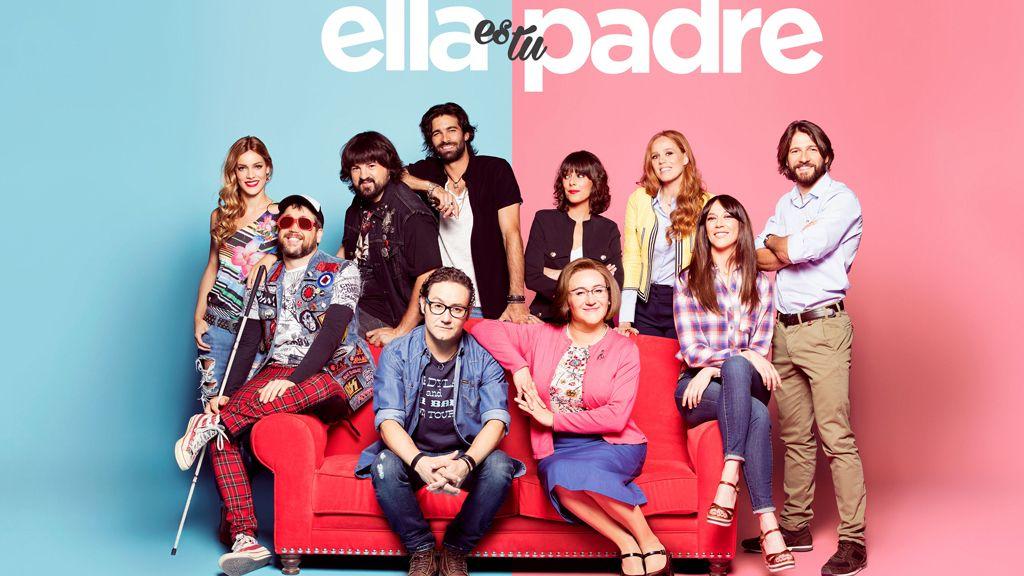 ¡Primeras imágenes de la nueva serie de Telecinco 'Ella es tu padre'!