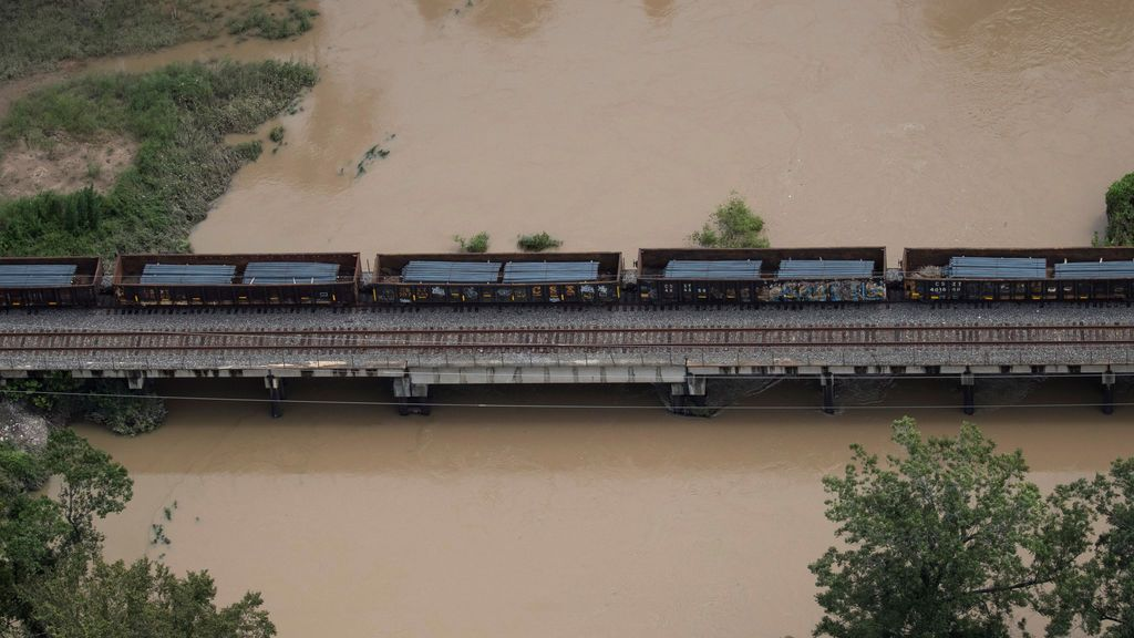 Inundaciones por la tormenta tropical Harvey