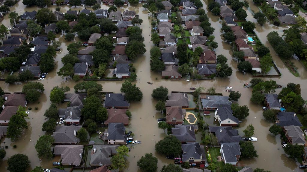 Houston, tras el paso de 'Harvey'