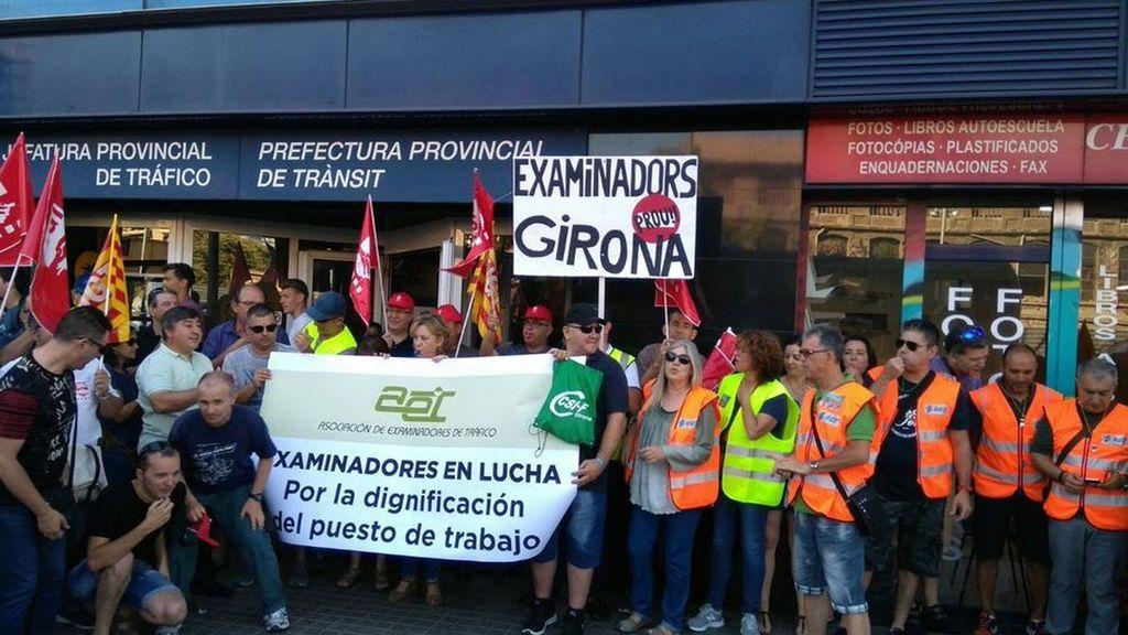 Los examinadores de tráfico vuelven a la huelga con paros de lunes a miércoles a partir de septiembre