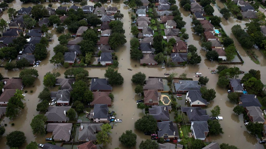Houston, tras el paso de Harvey