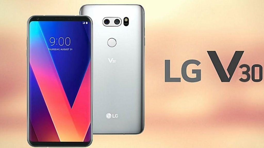 LG V30,  su nuevo smartphone  con pantalla OLED FullVision, doble cámara y efectos de cine