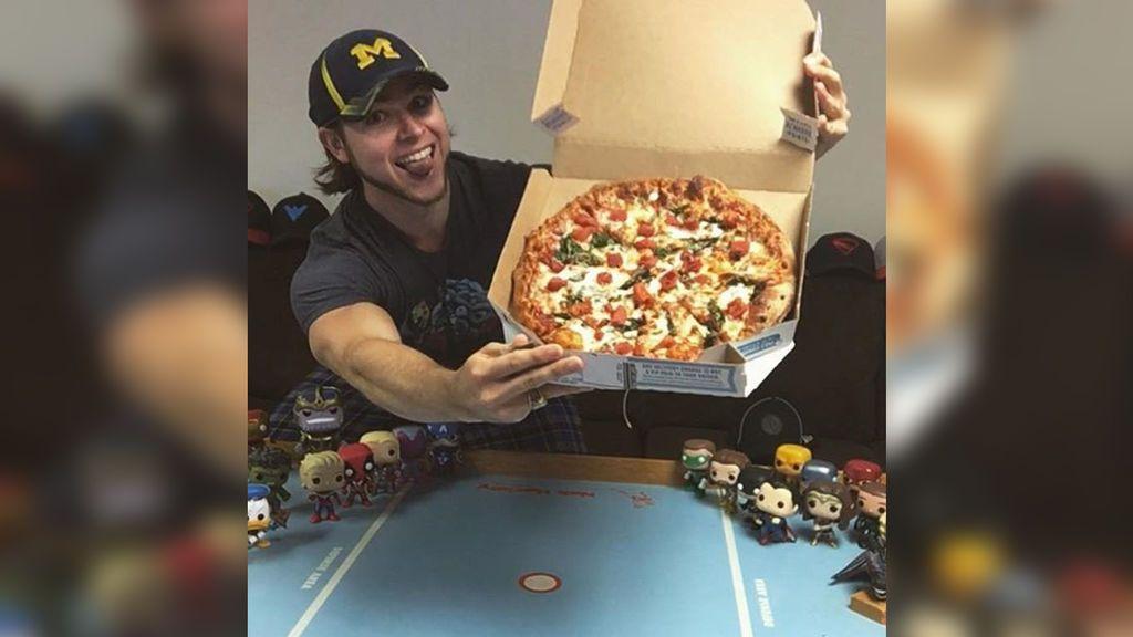 Este es el asombrosos resultado de comer pizza todos los días durante un año