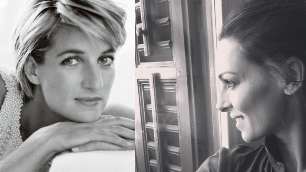 Eva González estilista por un día: tras la pista de Lady Di