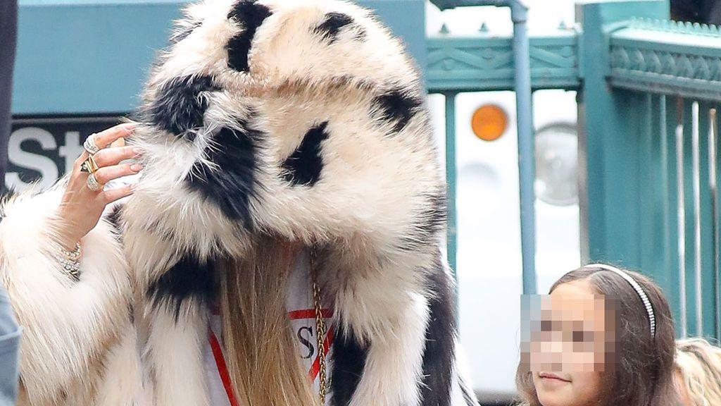 ¿Qué celebrity ha sido pillada por las calles de Nueva York  convertida en un ewok?