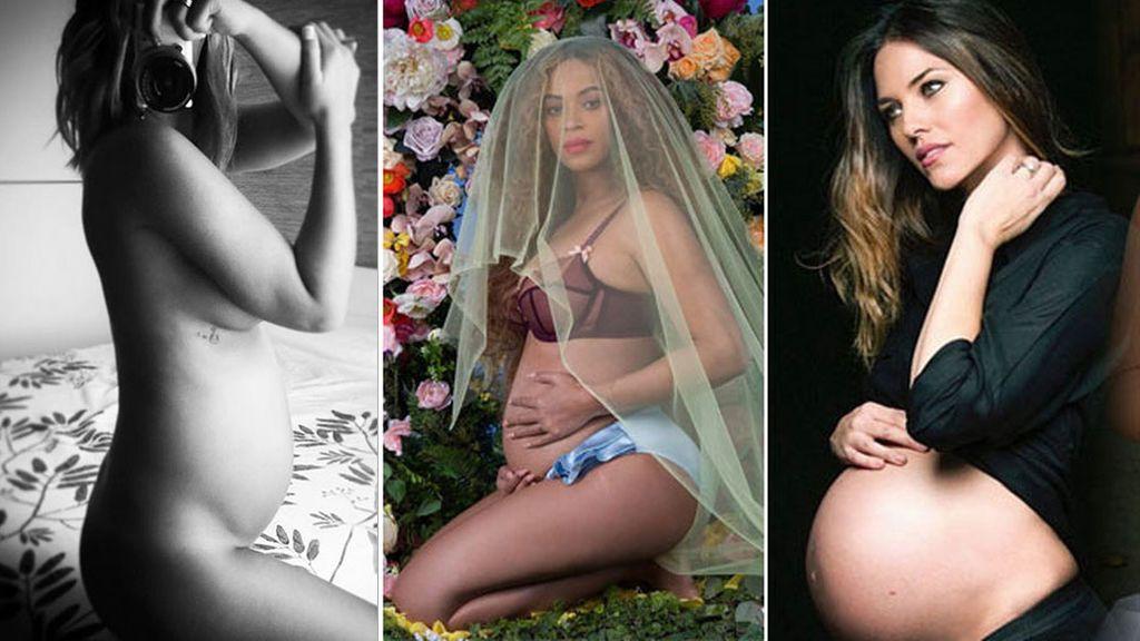 De Tamara Gorro a Beyoncé: detalles a imitar de las vips para conseguir el posado premamá perfecto