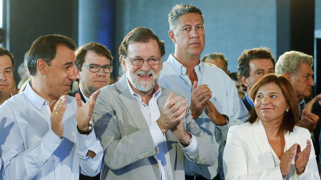 Mariano Rajoy clausura la reunión interparlamentaria del PP