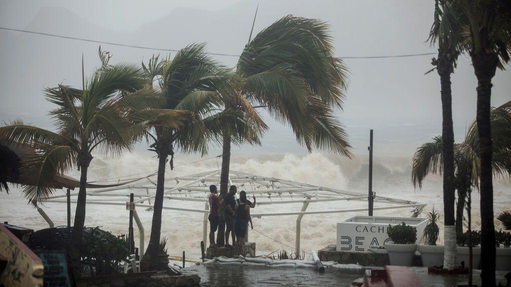 Al menos cuatro muertos por la tormenta tropical 'Lidia' en México