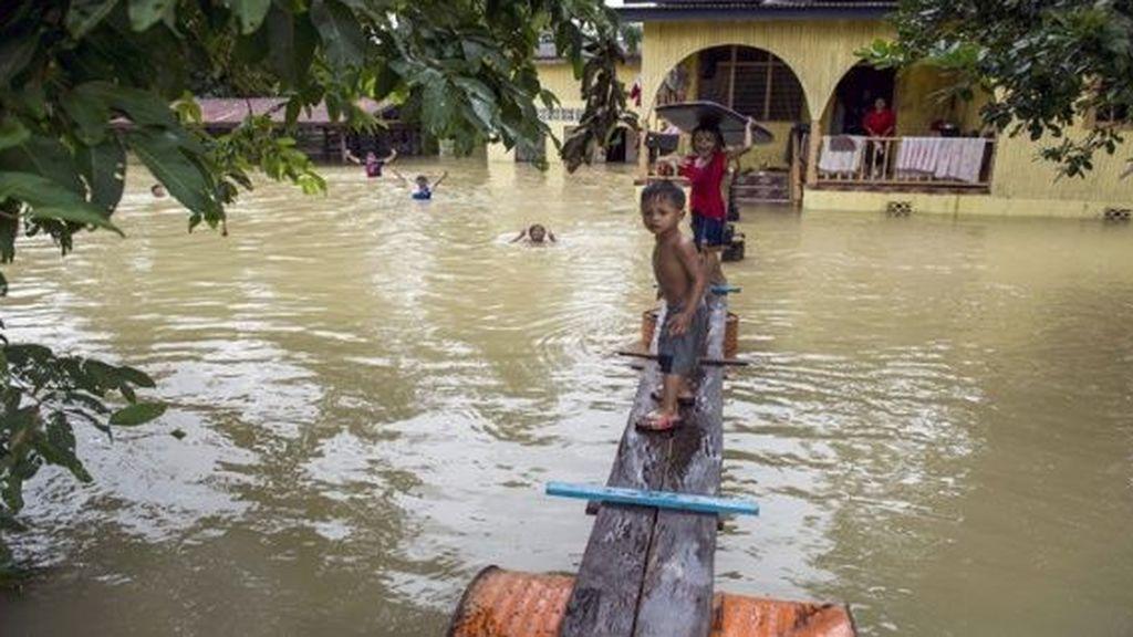 El monzón golpea a 16 millones de niños y sus familias en el Sureste Asiático