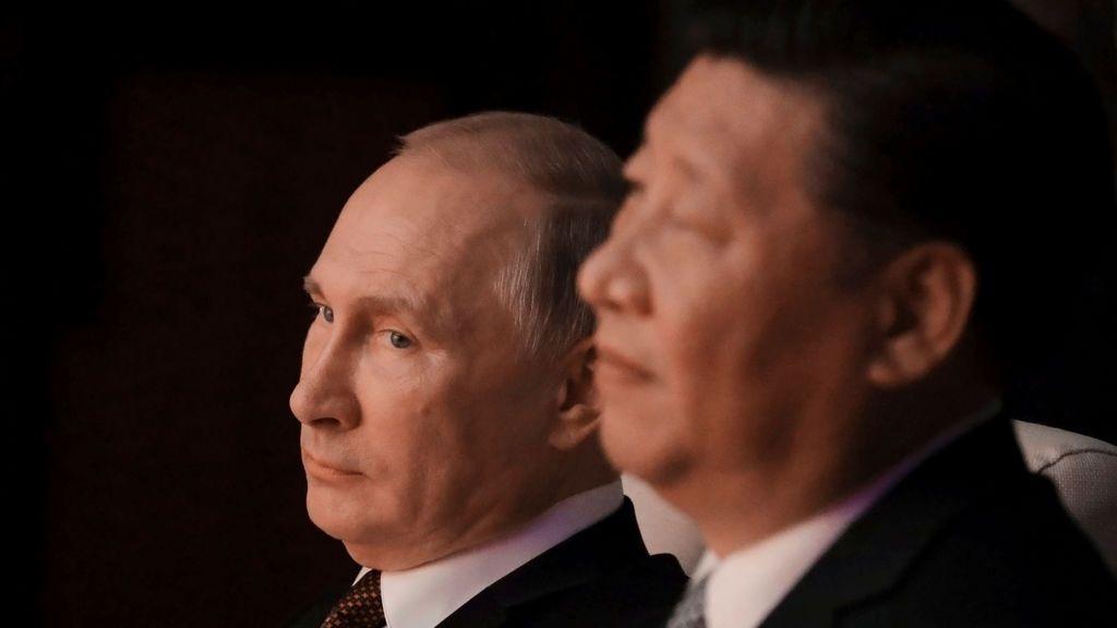 Putin y Xi , en una imagen de archivo.