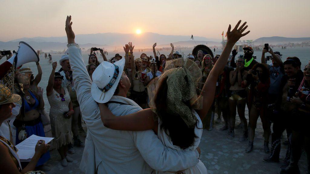 Las mejores imágenes del festival 'Burning Man'