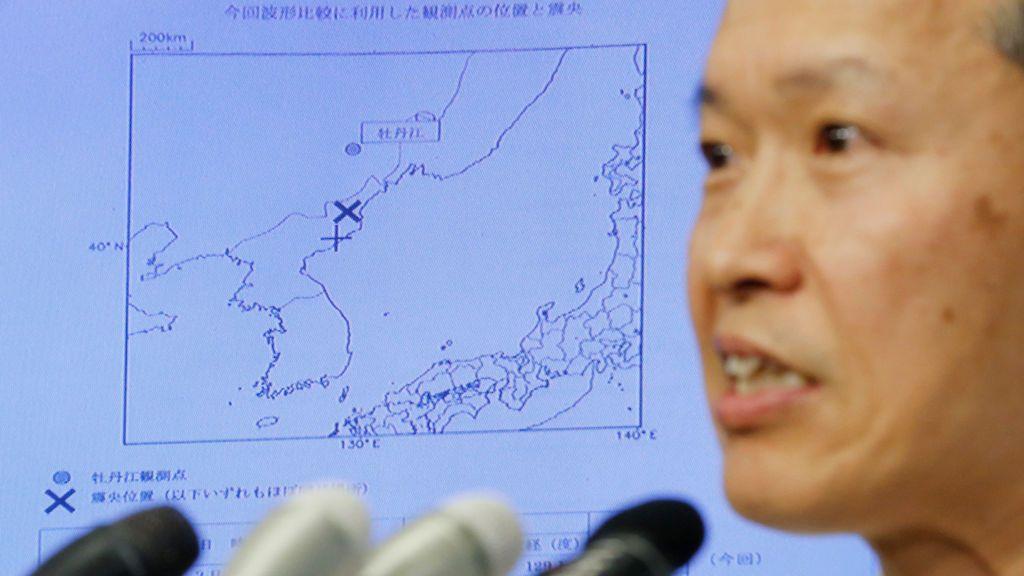 China detecta un segundo terremoto en Corea del Norte