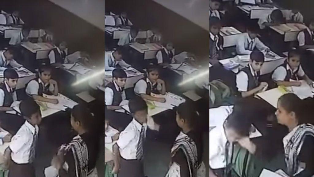 Una profesora golpea y abofetea 40 veces a un alumno