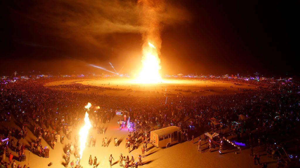 Las impactantes imágenes del festival 'Burning Man'