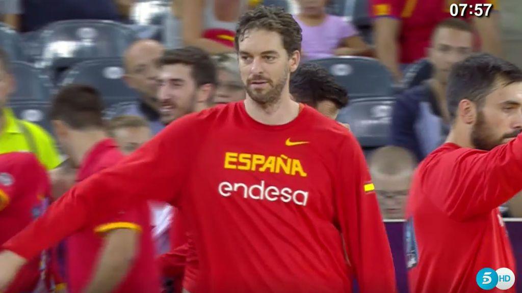 ¡Gasol, a 25 puntos de hacer historia! Tiene a tiro el récord anotador de los Eurobasket