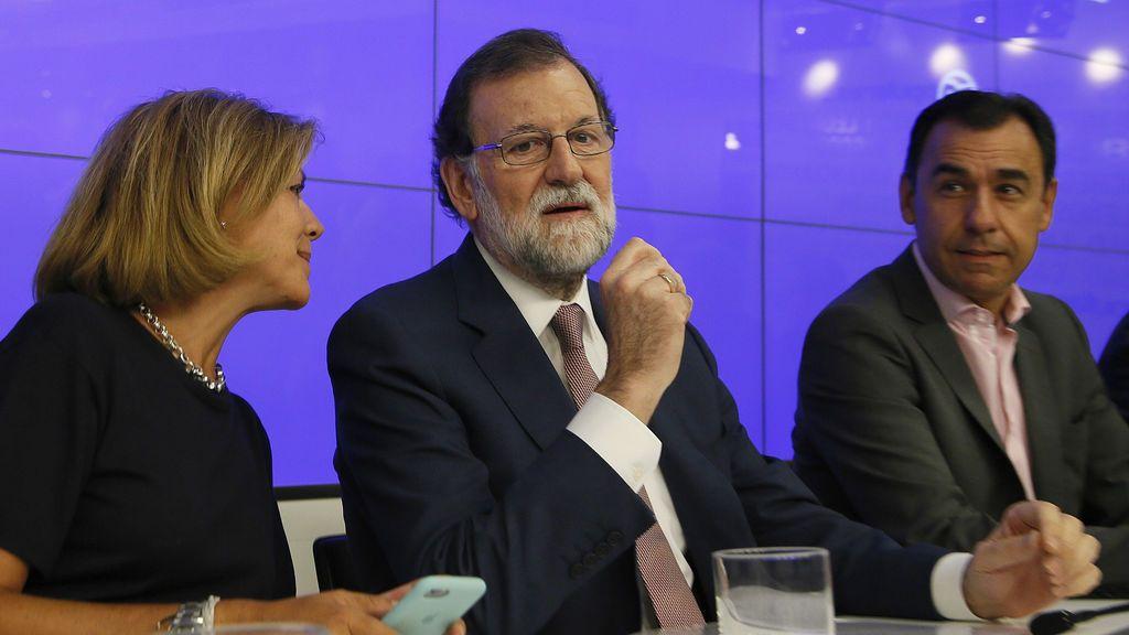 """Rajoy: """"Vamos a actuar con proporcionalidad e inteligencia. Ellos quieren justo lo contrario"""""""