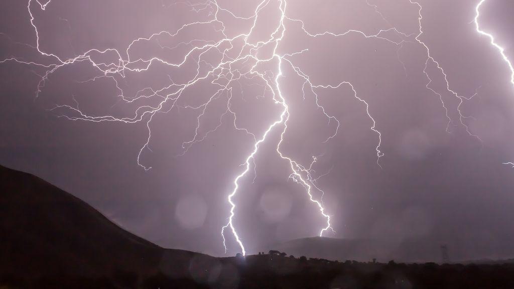 Un agosto eléctrico: los rayos aumentan en un 32% los últimos diez años