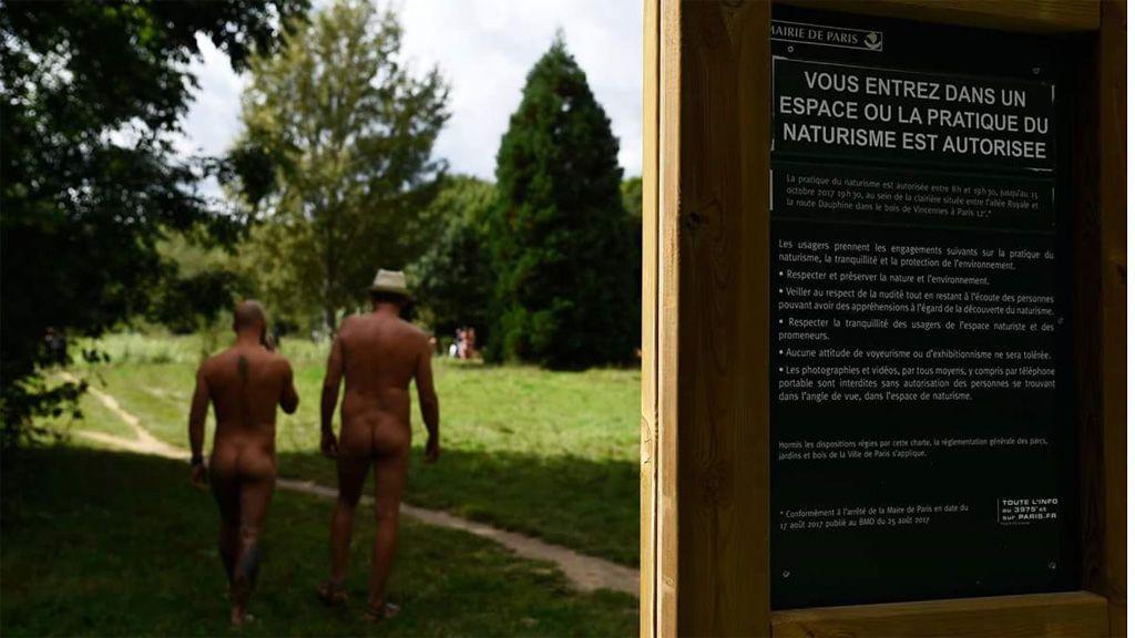 Así es el primer parque nudista de París