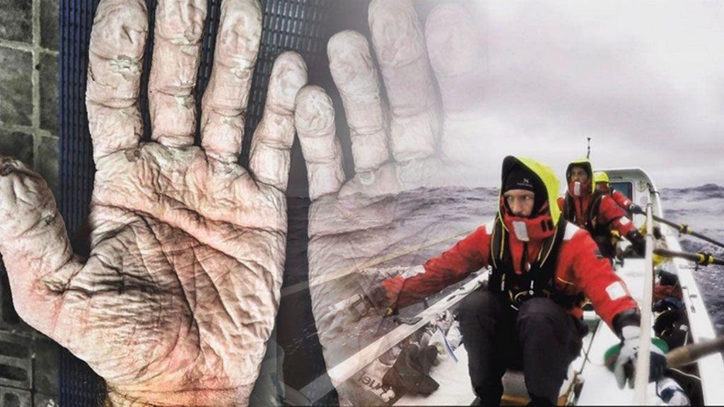 La humedad y el frío del Ártico no logran parar al remero que ha batido 11 records mundiales