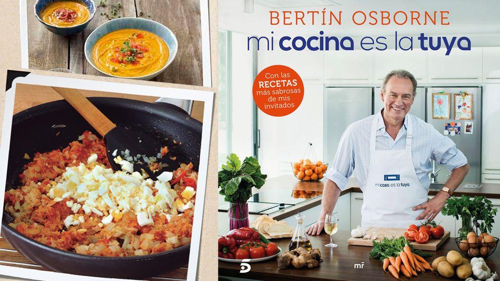 'Mi cocina es la tuya' el libro de las recetas de Bertín en 'Mi casa es la tuya'