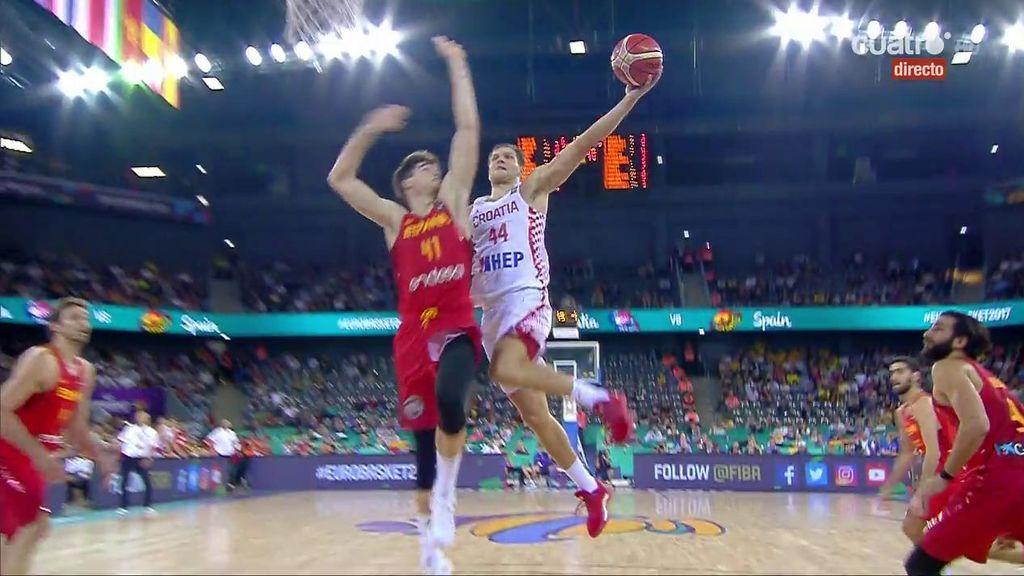 ¡Juancho hunde a Bogdanovic con un tapón para dar la victoria a España ante Croacia!