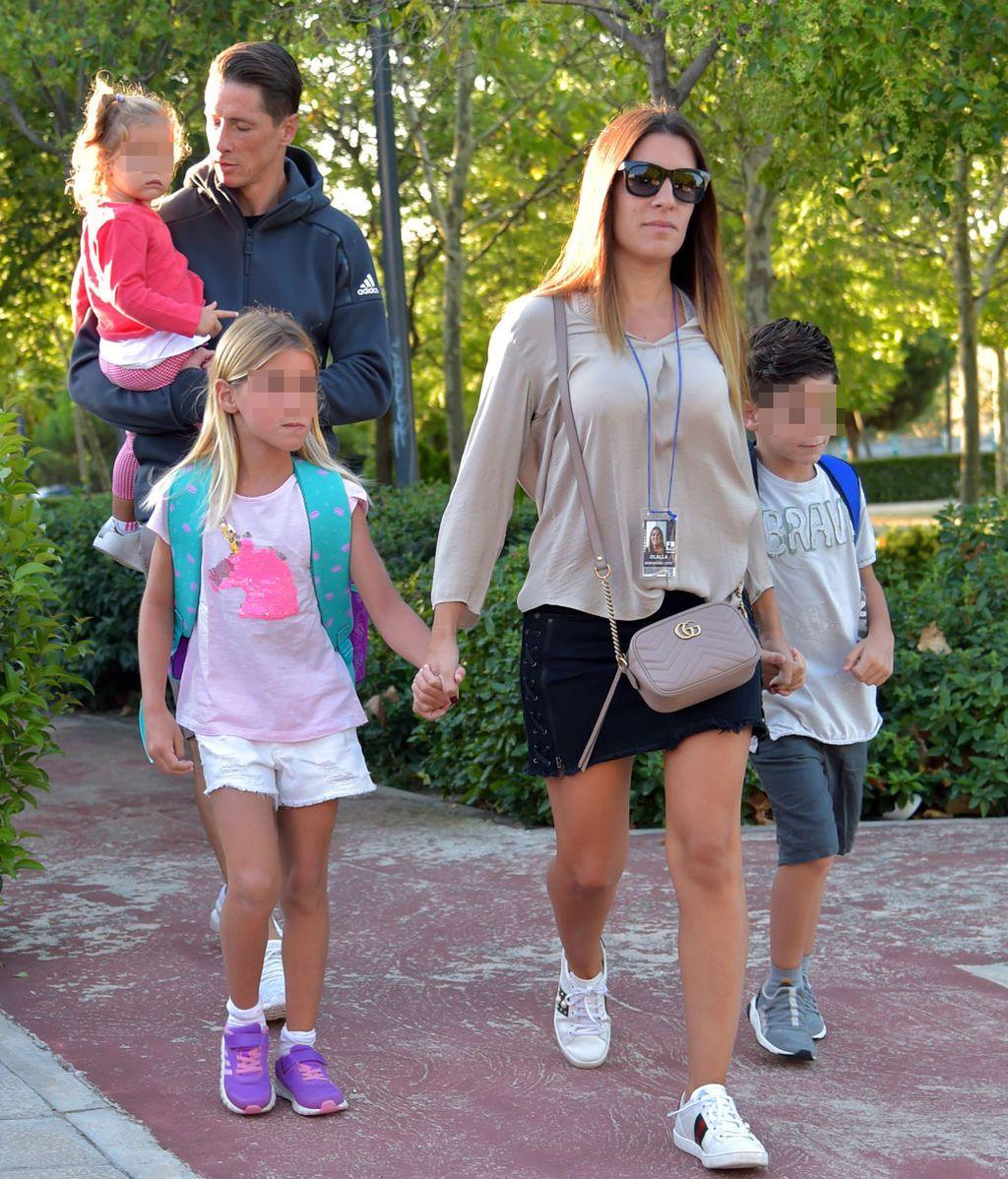 Los famosos acompañan a sus hijos en su 'vuelta al cole'