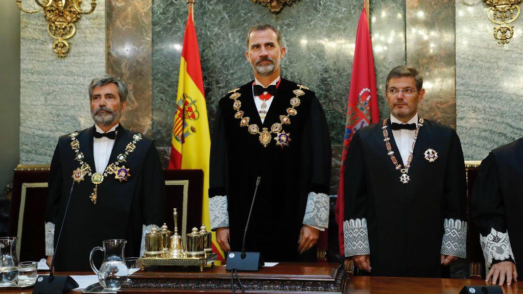 Rey inaugura el año judicial