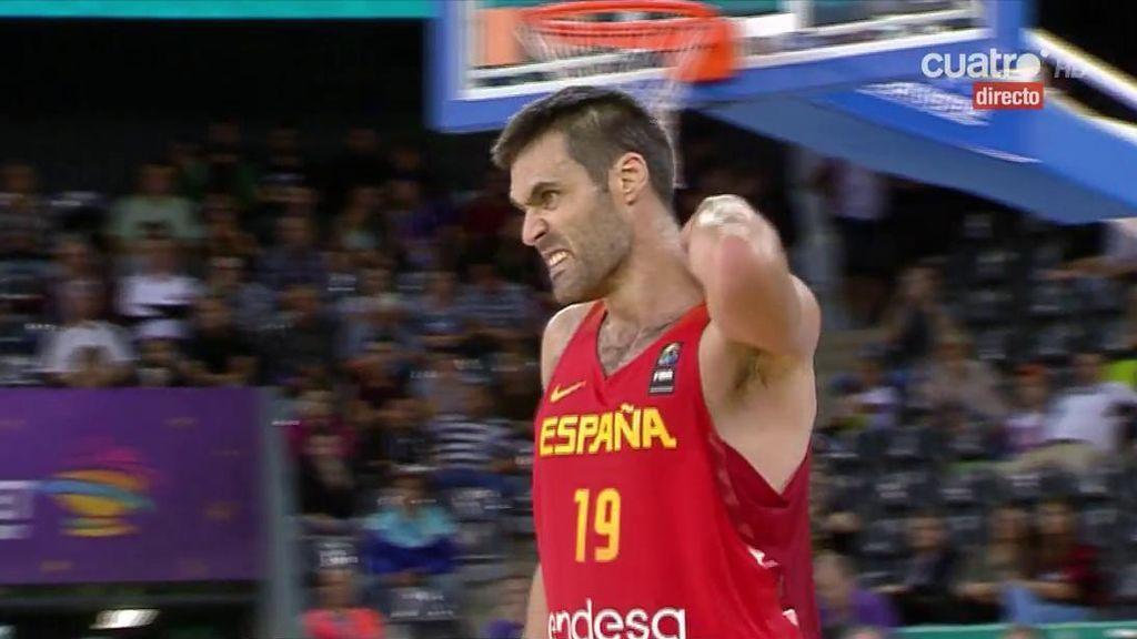 ¡Triple a triple! Ricky y San Emeterio ponen la directa en España