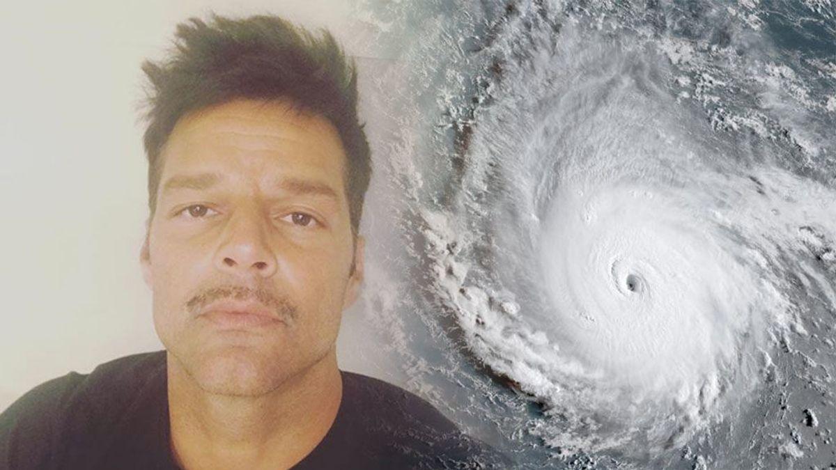 Irma amenaza las islas del Caribe y Ricky Martin envía un mensaje de apoyo a su gente